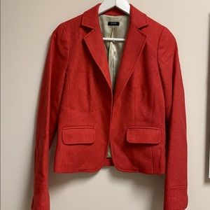 J.Crew red jacket small